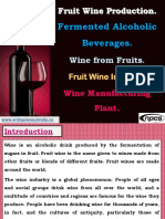 Fruit Wine Production. Fermented Alcoholic Beverages. Wine from Fruits. Fruit Wine Industry. Wine Manufacturing Plant.-440272-.pdf