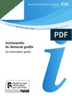 119 Aorto - Axillo Bifemoral grafts