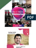 Memorias DíadelTalento. Modelos disruptivos de atracción de talento