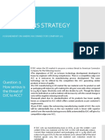 OPERATIONS STRATEGY - AMERICAN CONNECTOR os