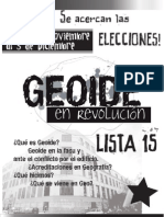 Plataforma Geoide en Revolución