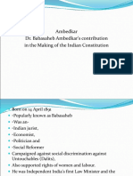 Ambedkar Contribution in Nation Building