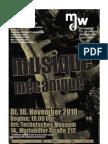 musique mécanique - Programmheft