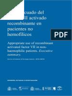 AETSA FactorVII de coagulacion