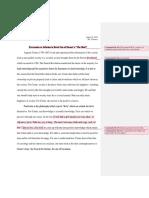 Sample Essay Format (Book Review)