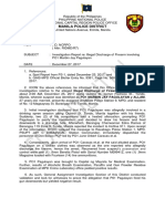 INVEST REPORT - P01 PAGULAYAN COMMAND REPORT