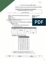 Examen de Passage 2014 TDI V2