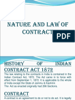 DEFINITION AND NATURE OF CONTRACT