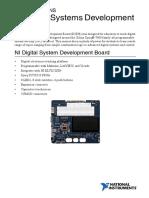 Specification NI Digital System Development
