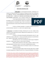 HOJA DE RUTA 02 - DESALOJO