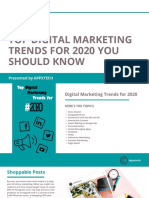 Top Digital Marketing Trends for 2020 You Should Know