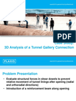 Tunnel-Gallery Connection Shear Dowels
