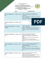 JULIE -accomplishment report sept15 - 30