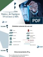 CONFIGURACIÓN DE EQUIPOS TN CISCO Y HP