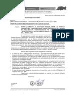 DIRECTIVA DE FINALIZACION DE AÑO ESCOLAR 2019