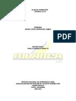 Act N° 8 PLAN DE FORMACIÓN RIVARCA S.A.S