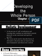 Chapter 3 Developing the Whole Person