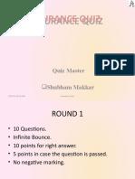 Insurance Quiz