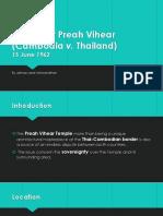 preah vihear temple case