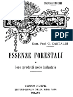 Castaldi - Essenze Forestali - Manuale Hoepli