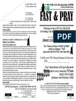 Be a FASTER _ Fasting and Prayer 2020