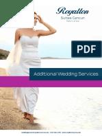 Royalton Suites Cancun - Additional Services