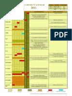 2011 Academic Calendar Maldives
