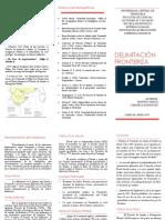 Delimitación de Fronteras Venezuela - Brasil