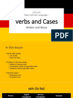 LPD2101 EKSEKUTIF Verbs and Cases