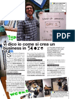 Startup We Glamour Dicembre 2010