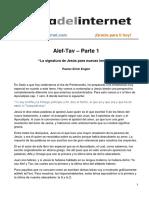 Alef-Tav 01 - La signatura de Jesus para nuevas lenguas