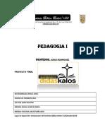 PEDAGOGIA PROYECTO