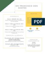 Currículo - Anderson Francisco dos Santos