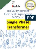 30MCQ on  1Ph Transformer PDF .pdf