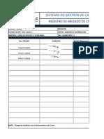 PROTOCOLO DE MEGADO DE CABLES