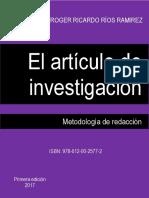 El Articulo De Investigacion