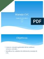 6° Manejo CVC.pptx