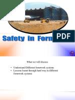 SAFETY in Form Work Program