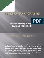 OSM1A-E_types of paragraph osma1-e (ngojopatrick).ppt