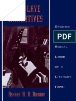 Ashraf H. A. Rushdy - Neo-slave Narratives_ Studies in the Social Logic of a Literary Form (Race and American Culture) (1999)
