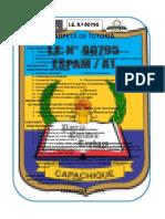 CAPETA DE TUTORIA - ED SECUNDARIA 2019