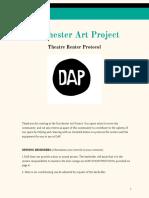 Dorchester Art Project Renter Info & Protocol