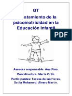 TRATAMIENTO DE LA PSICOMOTRICIDAD introducción