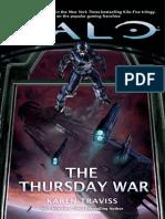 Halo, Karen Traviss, The Thursday War