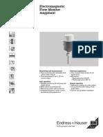 Manual Sensor Flujo