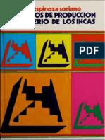 Los modos de producción en el imperio de los incas - Waldemar Espinoza
