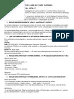 PREGUNTAS DE SISTEMAS DIGITALES