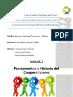Practico de Historia y doctrina cooperativa, guia 1
