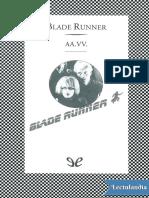 Blade Runner - AA VV