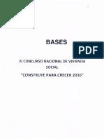 COBASES DEFINITIVAS IV CONSTRUYE PARA CRECER 2016